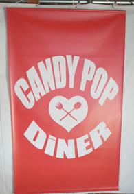 キャンディポップディナー様タペストリー