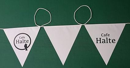カフェハルテ様連続旗